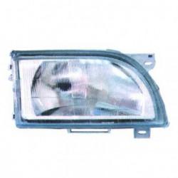 Faro fanale proiettore anteriore destro FORD TRANSIT 1991-2000 TYC regolazione elettrica, esterno in vetro