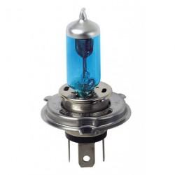 Coppia lampade lampadina alogena effetto xenon BLU-XE  H4 60/55W OMOLOGATE