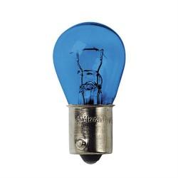 Coppia lampada lampadina 1 filamento effetto xenon BLU-XE  P21W  12V – BA15s