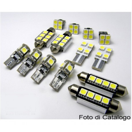 Luci led interne plafoniera per mercedes classe a w169 for Led per interni