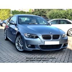 Paraurti anteriore TUNING BMW Serie 3 E92 E93 Coupè Cabriolet restyling 2010-2015, look M-Sport, per sensori per lavafari