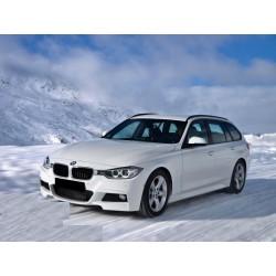 Kit estetico M-Tech AC Schnitzer look per BMW Serie 3 Touring F31 2011-2015, paraurti anteriore posteriore minigonne