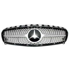 Calandra griglia AMG look sportivo tuning MERCEDES Classe A W176 2012 2013 2014 2015 diamond look no Distronic