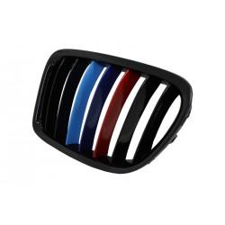 Calandra griglia TUNING BMW X1 serie E84 2009 2010 2011 2012 2013 2014 a 3 colori M Power nero lucido