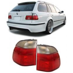 Set fari fanali posteriori TUNING BMW Serie 5 E39 Touring 1995-2000 trasparenti