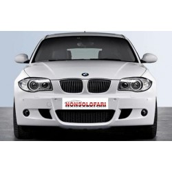 Kit estetico M-Tech completo TUNING BMW Serie1 E81 E87 2004 2005 2006 2007 paraurti anteriore posteriore diffusore minigonne
