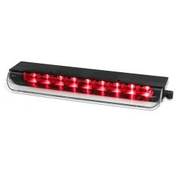 Faro fanale posteriore terzo stop LED cromato TUNING per FIAT 500 normale e Abarth 2007 2008 2009 2010 2011 2012 2013 2014 2015