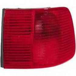 Faro fanale posteriore destro esterno AUDI A6 1994-1997 e AUDI 100 1991-1994 berlina, rosso