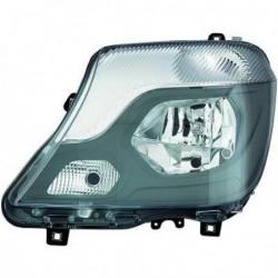 Faro fanale anteriore destro MERCEDES SPRINTER 2013- alogeno H7 con luce curva adattiva direzionale