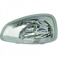 Freccia laterale specchio specchietto retrovisore esterno destro OPEL MOVANO B e NISSAN NV 400 2010- bianco
