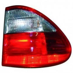 Faro fanale posteriore destro MERCEDES Classe E W210 1999-2002 Station Wagon SW rosso bianco esterno Classic Elegance