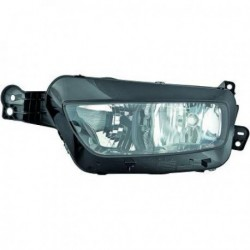 Faro fanale anteriore sinistro CITROEN C4 PICASSO 2013- lampade H7+H7 con motorino