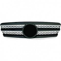Calandra griglia TUNING MERCEDES ClasseE W211 2002-2006 cromata nera look Sport AMG con marchio originale