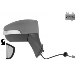 Specchio specchietto retrovisore esterno destro FORD ECOSPORT 2013- 5-PIN elettrico riscaldabile freccia luce terra asferico