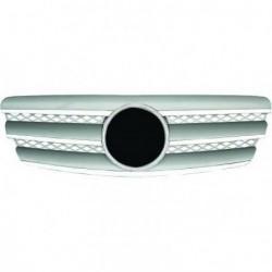 Calandra griglia TUNING MERCEDES ClasseE W211 2002-2006 cromata argento, look sportivo stile CL, con stem