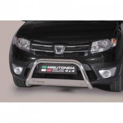 Bullbar anteriore OMOLOGATO DACIA Sandero Stepway dal 2013- acciaio INOX mod Medium