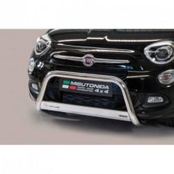 Bullbar anteriore OMOLOGATO FIAT 500 X acciaio INOX mod Medium
