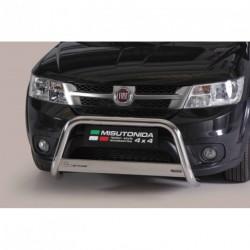 Bullbar anteriore OMOLOGATO FIAT Freemont  acciaio INOX mod Medium
