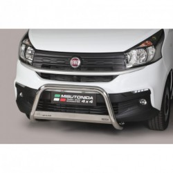Bullbar anteriore OMOLOGATO FIAT Talento dal 2016 acciaio INOX mod Medium