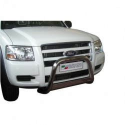 Bullbar anteriore OMOLOGATO FORD Ranger 2007-2009 acciaio INOX mod Medium