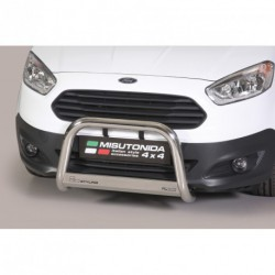 Bullbar anteriore OMOLOGATO FORD Transit Courier 2014- acciaio INOX mod Medium