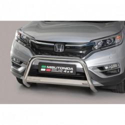 Bullbar anteriore OMOLOGATO HONDA CR-V 2016- acciaio INOX mod Medium