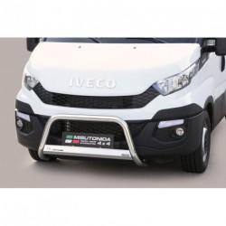 Bullbar anteriore OMOLOGATO IVECO Daily 2013- acciaio INOX mod Medium