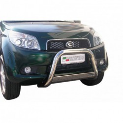 Bullbar anteriore OMOLOGATO KIA Sorento 2006-2009 acciaio INOX mod Medium