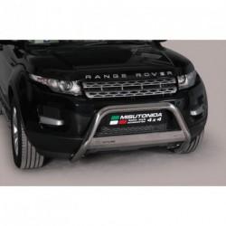 Bullbar anteriore OMOLOGATO LAND ROVER Range Rover Evoque (Pure e Prestige) 2011-2015 acciaio INOX mod Medium