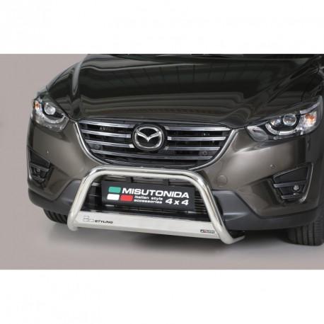 Bullbar anteriore OMOLOGATO MAZDA CX-5 2015- acciaio INOX mod Medium