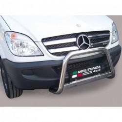 Bullbar anteriore OMOLOGATO MERCEDES Sprinter 2006-2012 acciaio INOX mod Medium