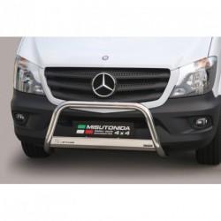 Bullbar anteriore OMOLOGATO MERCEDES Sprinter dal 2013- acciaio INOX mod Medium