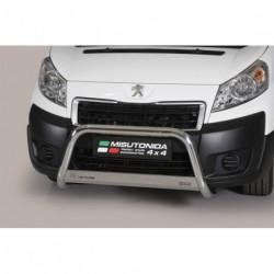 Bullbar anteriore OMOLOGATO PEUGEOT Expert 2007-2016 acciaio INOX mod Medium