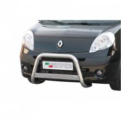 Bullbar anteriore OMOLOGATO RENAULT Kangoo 2008-2013 acciaio INOX mod Medium