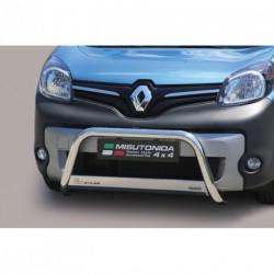 Bullbar anteriore OMOLOGATO RENAULT Kangoo 2013- acciaio INOX mod Medium