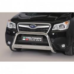 Bullbar anteriore OMOLOGATO SUBARU Forester 2013-2015 acciaio INOX mod Medium