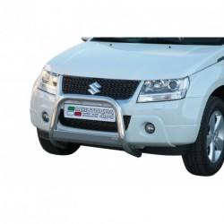 Bullbar anteriore OMOLOGATO SUZUKI Grand Vitara 2009- acciaio INOX mod Medium con marchio