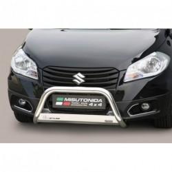 Bullbar anteriore OMOLOGATO SUZUKI SX4 S-CROSS 2013- acciaio INOX mod Medium