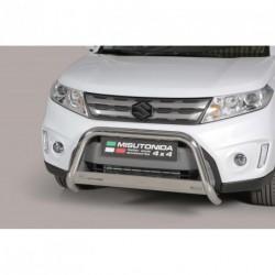 Bullbar anteriore OMOLOGATO SUZUKI Vitara 2015- acciaio INOX mod Medium