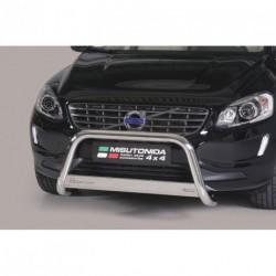Bullbar anteriore OMOLOGATO VOLVO XC 60 2014- acciaio INOX mod Medium