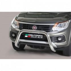 Bullbar anteriore OMOLOGATO FIAT Fullback dal 2016 acciaio INOX mod Medium