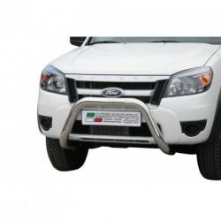 Bullbar anteriore OMOLOGATO FORD Ranger 2009-2011 acciaio INOX mod Medium