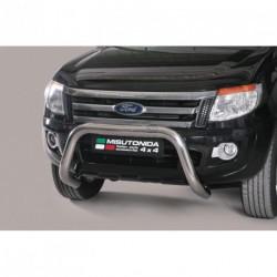 Bullbar anteriore OMOLOGATO FORD Ranger dal 2012- acciaio INOX mod Medium