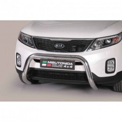 Bullbar anteriore OMOLOGATO KIA Sorento 2012-2015 acciaio INOX mod Medium