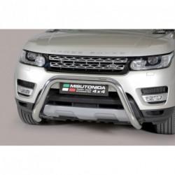 Bullbar anteriore OMOLOGATO LAND ROVER Range Rover Sport 2014- acciaio INOX mod Medium