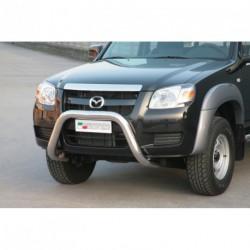 Bullbar anteriore OMOLOGATO MAZDA BT 50 2006-2008 acciaio INOX mod Medium