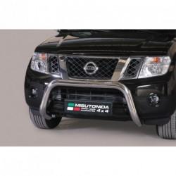 Bullbar anteriore OMOLOGATO NISSAN Pathfinder 2010-2014 acciaio INOX mod Medium