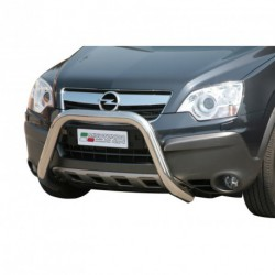 Bullbar anteriore OMOLOGATO OPEL Antara 2007-2011 acciaio INOX mod Medium