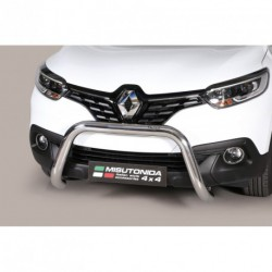 Bullbar anteriore OMOLOGATO RENAULT Kadjar 2015- acciaio INOX mod Medium