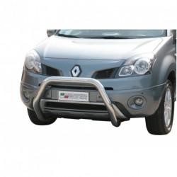Bullbar anteriore OMOLOGATO RENAULT Koleos 2008-2011 acciaio INOX mod Medium